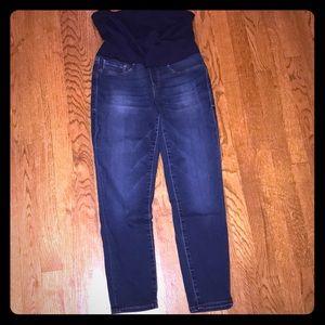 Mavi Petite Ankle Maternity Jeans Size 27